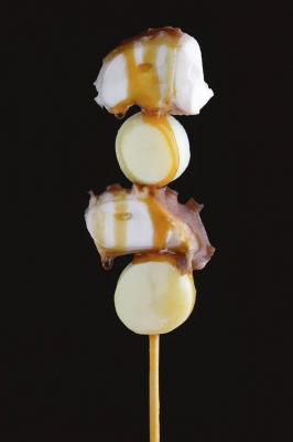 Brocheta de pulpo